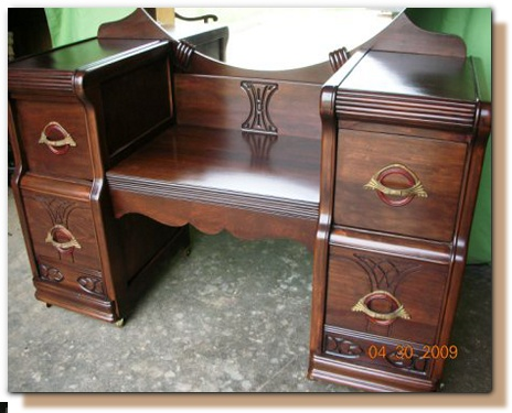 Refinished antique vanity - Refinish Antique Furniture