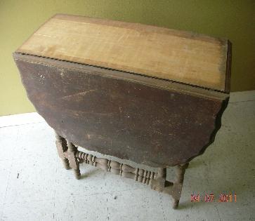. Refinish antique furniture